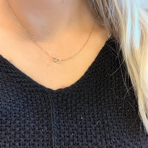 Made by Mila | Ketting cartier rose goud - Go Dutch Label 2