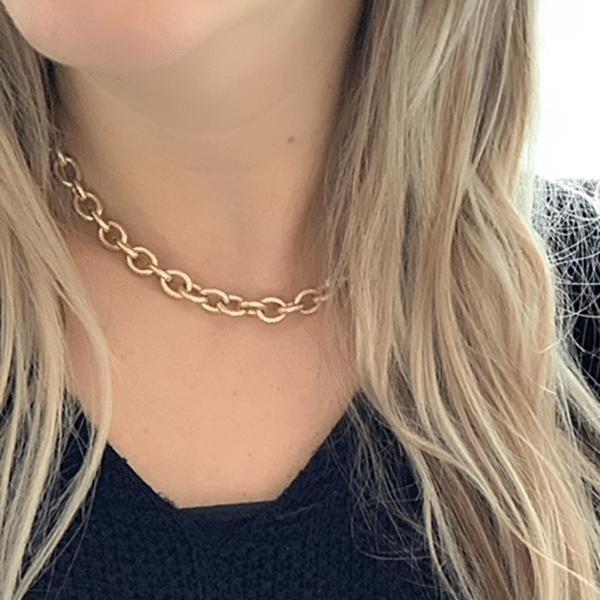 Made by Mila | Ketting grove schakel - ZAG Bijoux 2