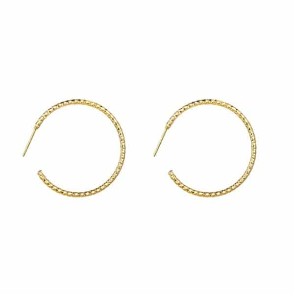 Made by Mila | Oorbellen hoops goud - Go Dutch Label 1