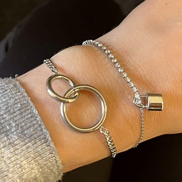Made by Mila | Armband infinity zilver- Go Dutch label 3