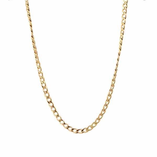 Made by Mila | Ketting schakel goud met grove mooie schakels. Go Dutch Label 1