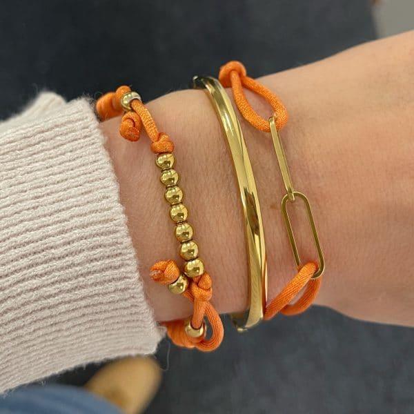 Made by Mila | Klassieke massieve armband - Go Dutch Label 2