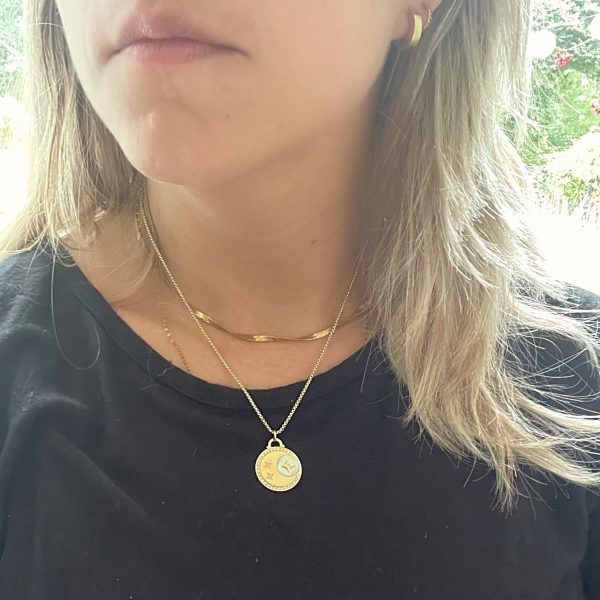 Made by Mila   Ketting amulet stars & moon lang - ZAG Bijoux 2