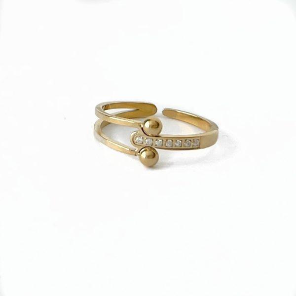 Made by Mila | Verstelbare ring stones- ZAG Bijoux 1