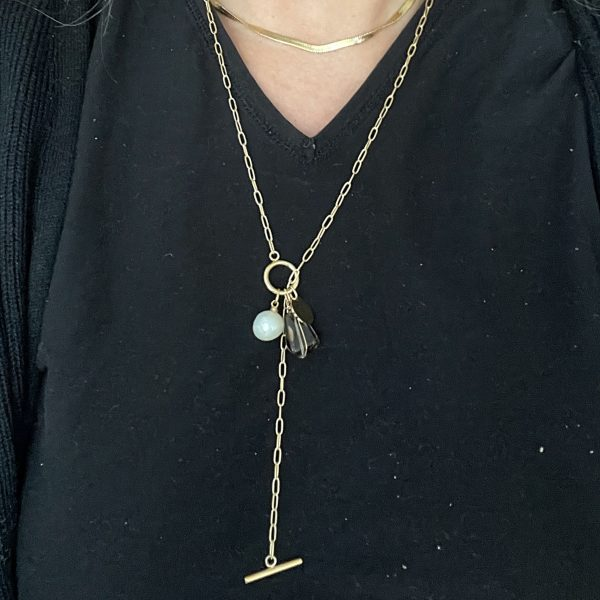 Made by Mila | Ketting amulet verstelbaar stones - ZAG Bijoux 2