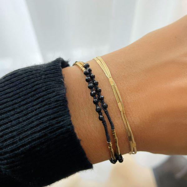 Made by Mila | Armband goud dubbel- ZAG Bijoux 2